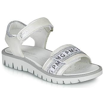Topánky Dievčatá Sandále Primigi 5386700 Biela / Strieborná