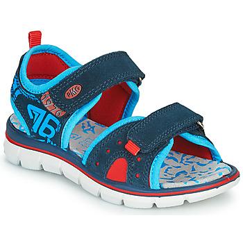 Topánky Chlapci Sandále Primigi 5392822 Námornícka modrá / Modrá / Červená