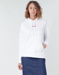 Oblečenie Ženy Mikiny Levi's RAPHIC SPORT HOODIE BABY TAB HOODIE Biela