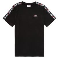 Oblečenie Deti Tričká s krátkym rukávom Fila FREDDY Čierna
