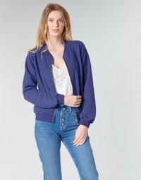 Oblečenie Ženy Mikiny Moony Mood CHUCKY Námornícka modrá
