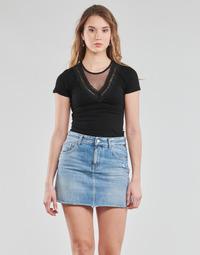 Oblečenie Ženy Blúzky Moony Mood DALINA Čierna