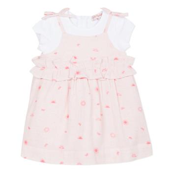 Oblečenie Dievčatá Krátke šaty Lili Gaufrette NAZETTE Ružová