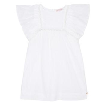 Oblečenie Dievčatá Krátke šaty Lili Gaufrette MELINA Biela