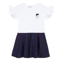 Oblečenie Dievčatá Krátke šaty Lili Gaufrette MENDI Biela