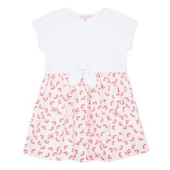 Oblečenie Dievčatá Krátke šaty Lili Gaufrette CAYDEN Biela