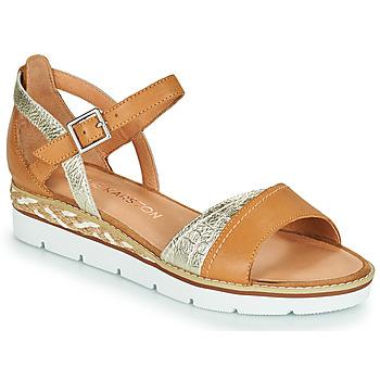 Topánky Ženy Sandále Karston KILGUM Hnedá / Strieborná