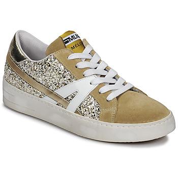 Topánky Ženy Nízke tenisky Meline GERIE Zlatá