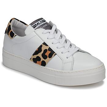 Topánky Ženy Nízke tenisky Meline GETSET Biela / Leopard