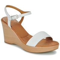 Topánky Ženy Sandále Unisa RITA Biela