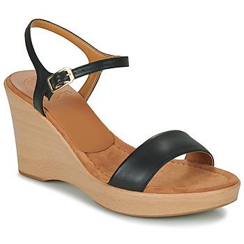 Topánky Ženy Sandále Unisa RITA Čierna