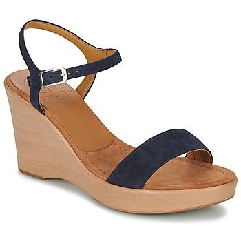 Topánky Ženy Sandále Unisa RITA Námornícka modrá