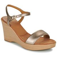 Topánky Ženy Sandále Unisa RITA Strieborná