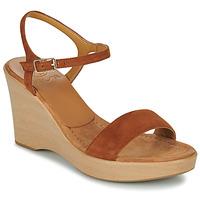 Topánky Ženy Sandále Unisa RITA Hnedá
