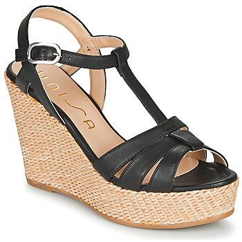 Topánky Ženy Sandále Unisa MACA Čierna