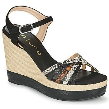 Topánky Ženy Sandále Unisa MIRELLA Čierna