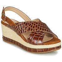 Topánky Ženy Sandále Unisa KASTRO Ťavia hnedá