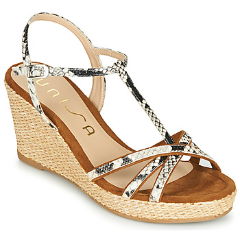 Topánky Ženy Sandále Unisa LLINAR Hadí vzor