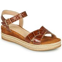 Topánky Ženy Sandále Unisa GRANADA Ťavia hnedá