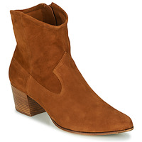 Topánky Ženy Čižmičky Unisa GALVEZ Ťavia hnedá