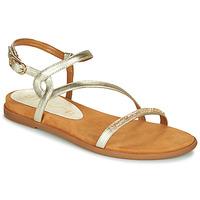 Topánky Ženy Sandále Unisa CLARIS Zlatá