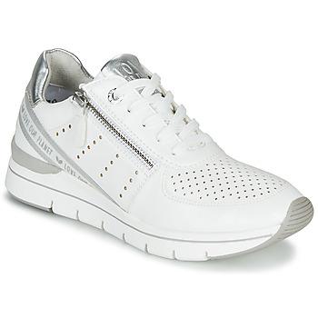 Topánky Ženy Nízke tenisky Marco Tozzi 2-23723 Biela
