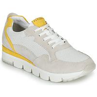 Topánky Ženy Nízke tenisky Marco Tozzi  Biela / Žltá