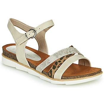 Topánky Ženy Sandále Marco Tozzi 2-28410 Béžová