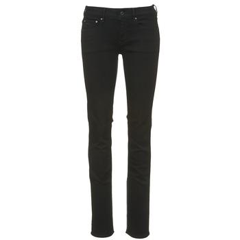 Oblečenie Ženy Rovné džínsy G-Star Raw ATTACC MID STRAIGHT čierna