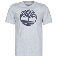 Oblečenie Muži Tričká s krátkym rukávom Timberland SS KENNEBEC RIVER BRAND TREE TEE Šedá