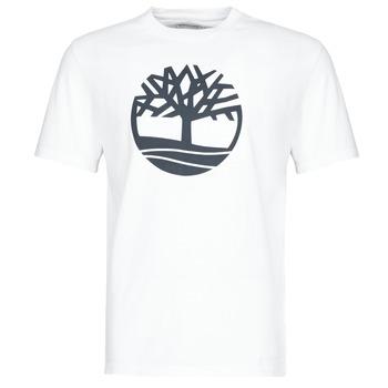 Oblečenie Muži Tričká s krátkym rukávom Timberland SS KENNEBEC RIVER BRAND TREE TEE Biela