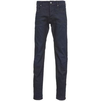 Oblečenie Muži Rovné džínsy G-Star Raw 3301 TAPERED Visor / Stretch / Denim / Dk / Aged