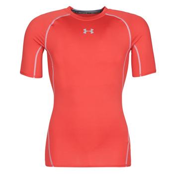 Oblečenie Muži Tričká s krátkym rukávom Under Armour UA HEATGEAR ARMOUR Červená
