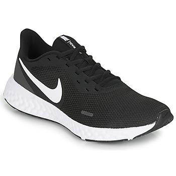 Topánky Muži Univerzálna športová obuv Nike REVOLUTION 5 Čierna / Biela