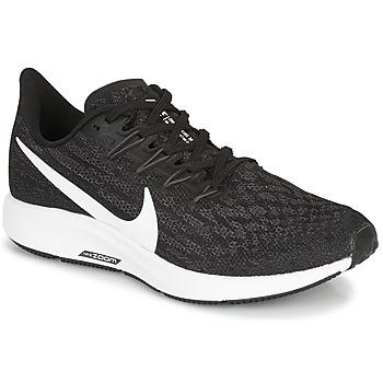 Topánky Ženy Bežecká a trailová obuv Nike ZOOM PEGASUS 36 Čierna / Biela