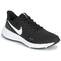 Topánky Ženy Univerzálna športová obuv Nike REVOLUTION 5 Čierna / Biela