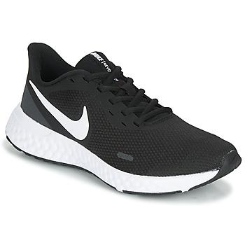 Topánky Ženy Bežecká a trailová obuv Nike REVOLUTION 5 Čierna / Biela