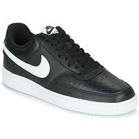 Topánky Ženy Nízke tenisky Nike COURT VISION LOW Čierna / Biela