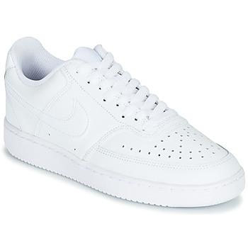 Topánky Ženy Nízke tenisky Nike COURT VISION LOW Biela