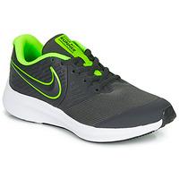 Topánky Chlapci Univerzálna športová obuv Nike STAR RUNNER 2 GS Čierna / Zelená