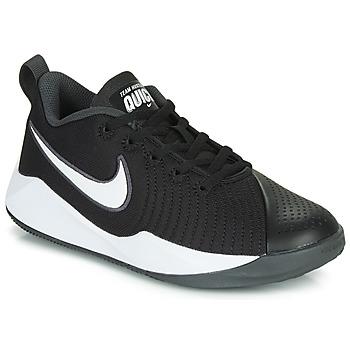 Topánky Deti Univerzálna športová obuv Nike TEAM HUSTLE QUICK 2 GS Čierna / Biela