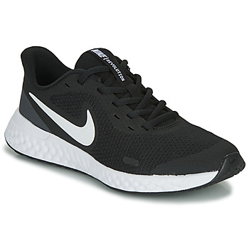 Topánky Deti Nízke tenisky Nike REVOLUTION 5 GS Čierna / Biela