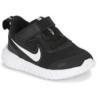 Topánky Deti Univerzálna športová obuv Nike REVOLUTION 5 TD Čierna / Biela