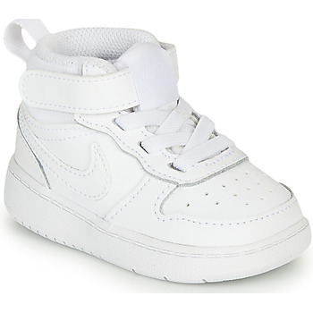 Topánky Deti Členkové tenisky Nike COURT BOROUGH MID 2 TD Biela