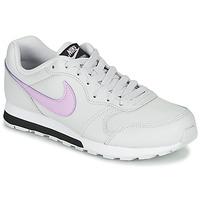 Topánky Dievčatá Nízke tenisky Nike MD RUNNER GS Biela / Ružová