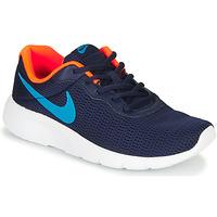 Topánky Chlapci Nízke tenisky Nike TANJUN GS Modrá