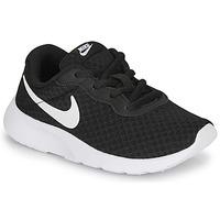 Topánky Deti Nízke tenisky Nike TANJUN PS Čierna / Biela