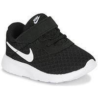 Topánky Deti Nízke tenisky Nike TANJUN TD Čierna / Biela
