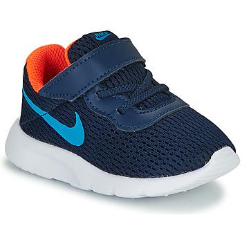 Topánky Chlapci Nízke tenisky Nike TANJUN TD Modrá