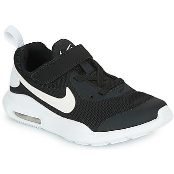 Topánky Deti Nízke tenisky Nike AIR MAX OKETO PS Čierna / Biela